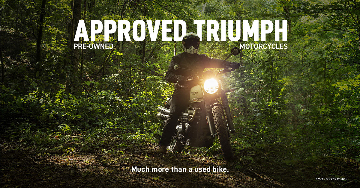Triumph launches 'Approved Triumph' pre-owned motorcycles in India