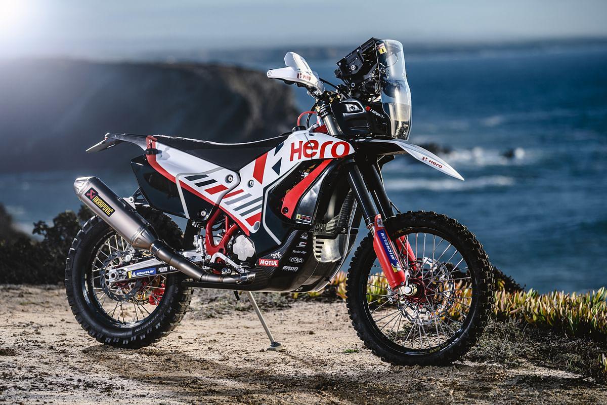 Hero MotoSports' Dakar 2021 steed looks gorgeous