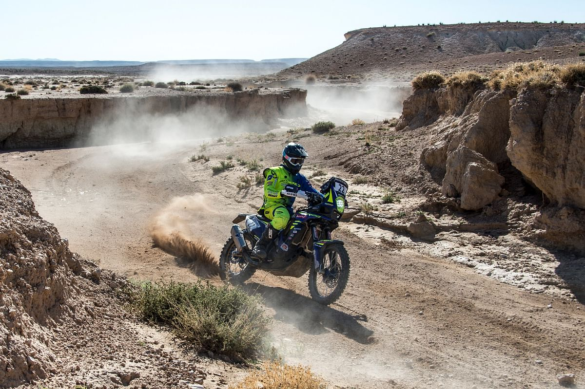 TVS Racing Team pulls out of Dakar 2021