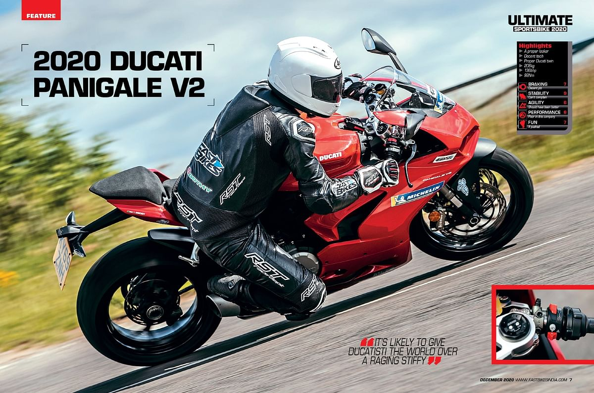 Do not get confused between the Panigale V2 and V4 S