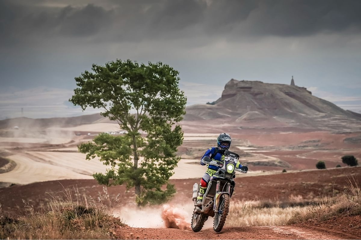 Extensive roadbook training will be instrumental for Harith's success in the 2021 Dakar