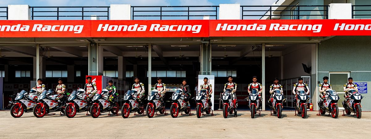 Idemitsu Honda India CBR150 Talent Cup novice riders