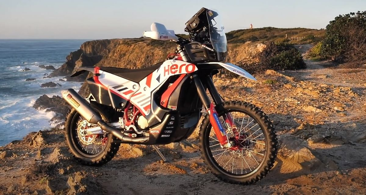The new 450 Rally bike features quite a few updates