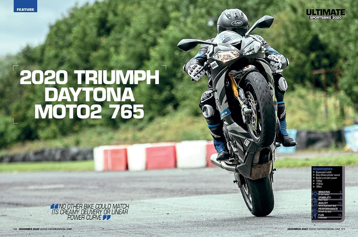 Although the Moto2 edition is sold out, it is still the best bike to have fun with