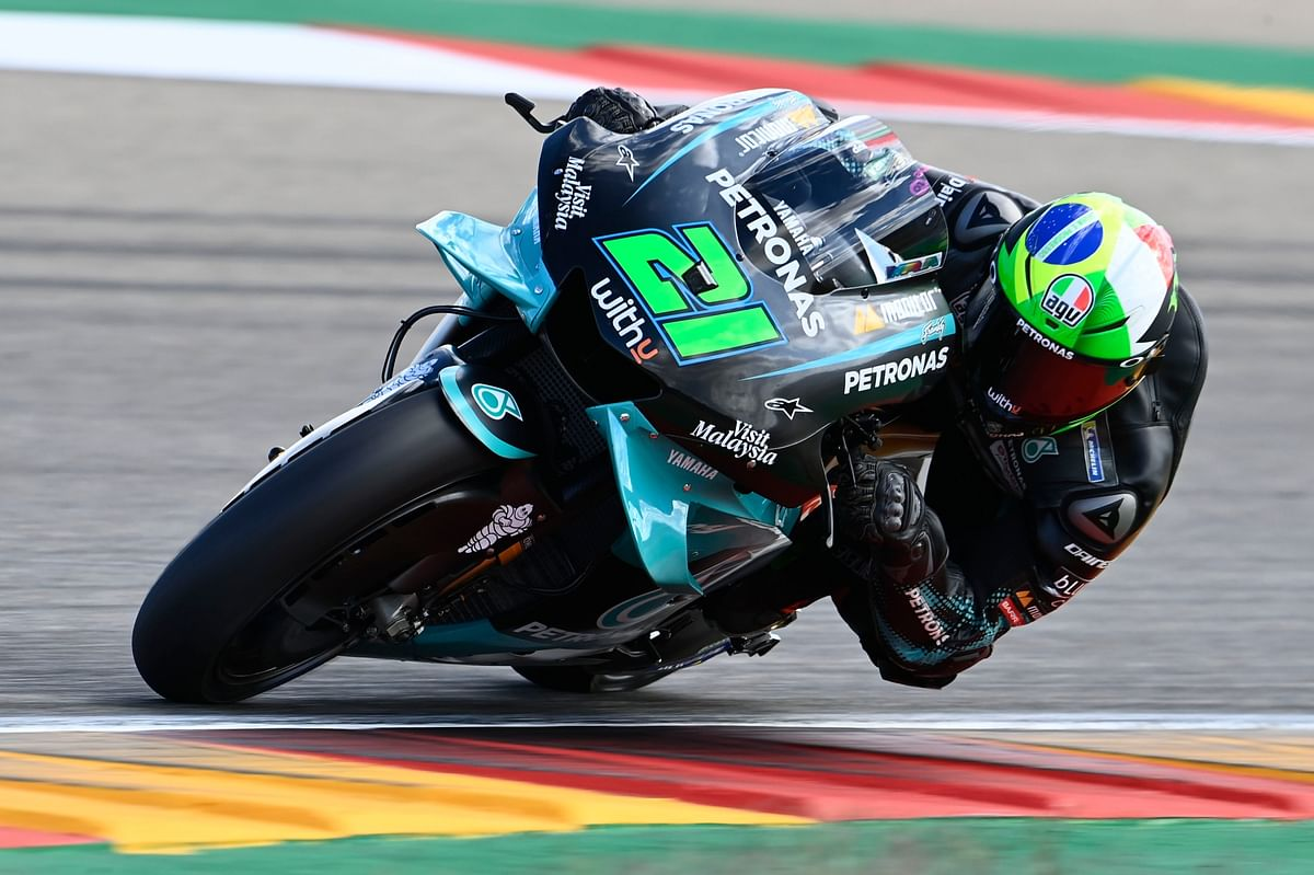 """I try to be as young as possible but as wise as possible"" says Petronas Yamaha's Franco Morbidelli"