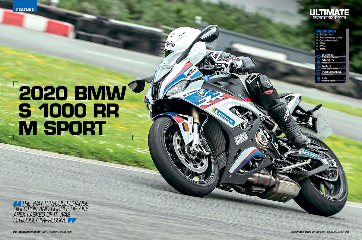 The exceptional motorcycle that won this test last year