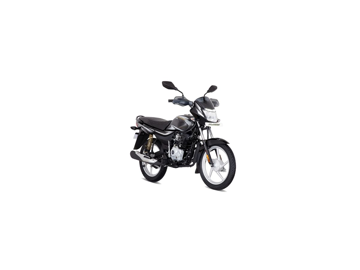 Bajaj Platina 100 Kick Start in Ebony black