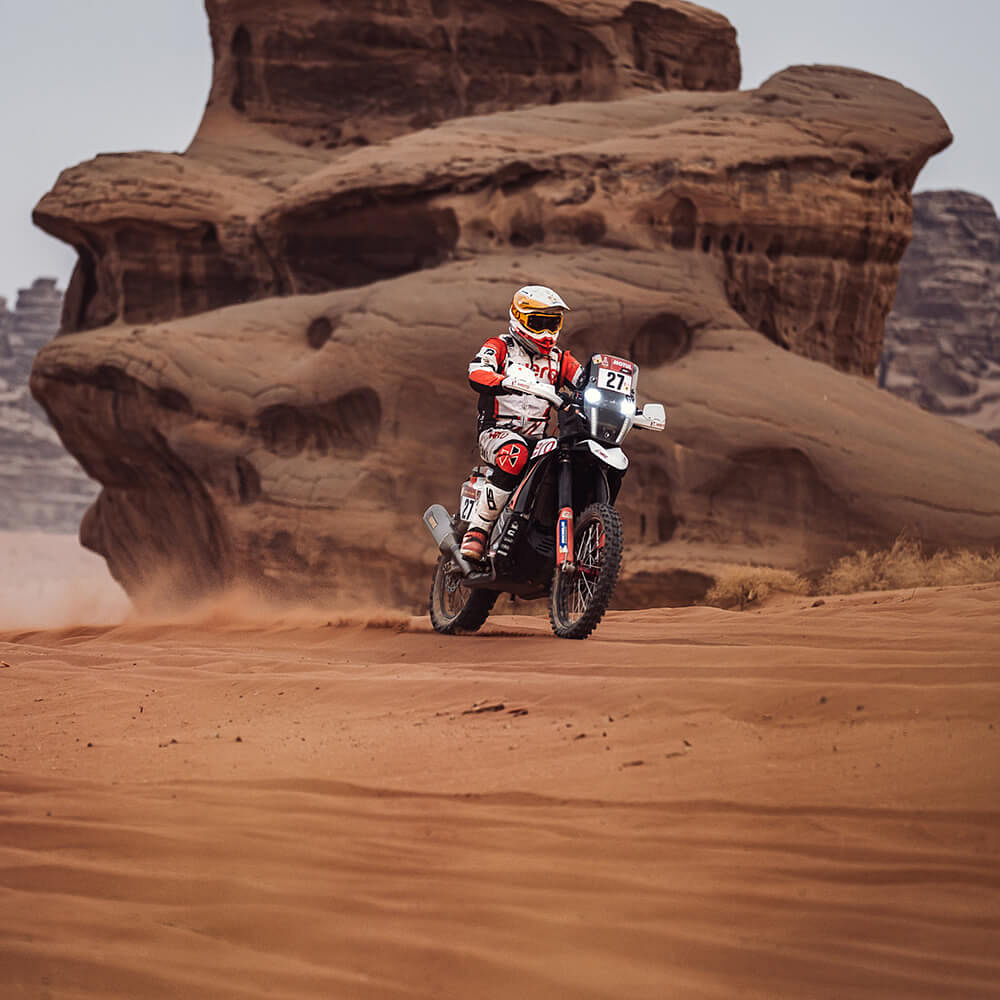 Dakar 2021 Stage 11 | Sebastian Buhler finishes strong for Hero MotoSports Team Rally