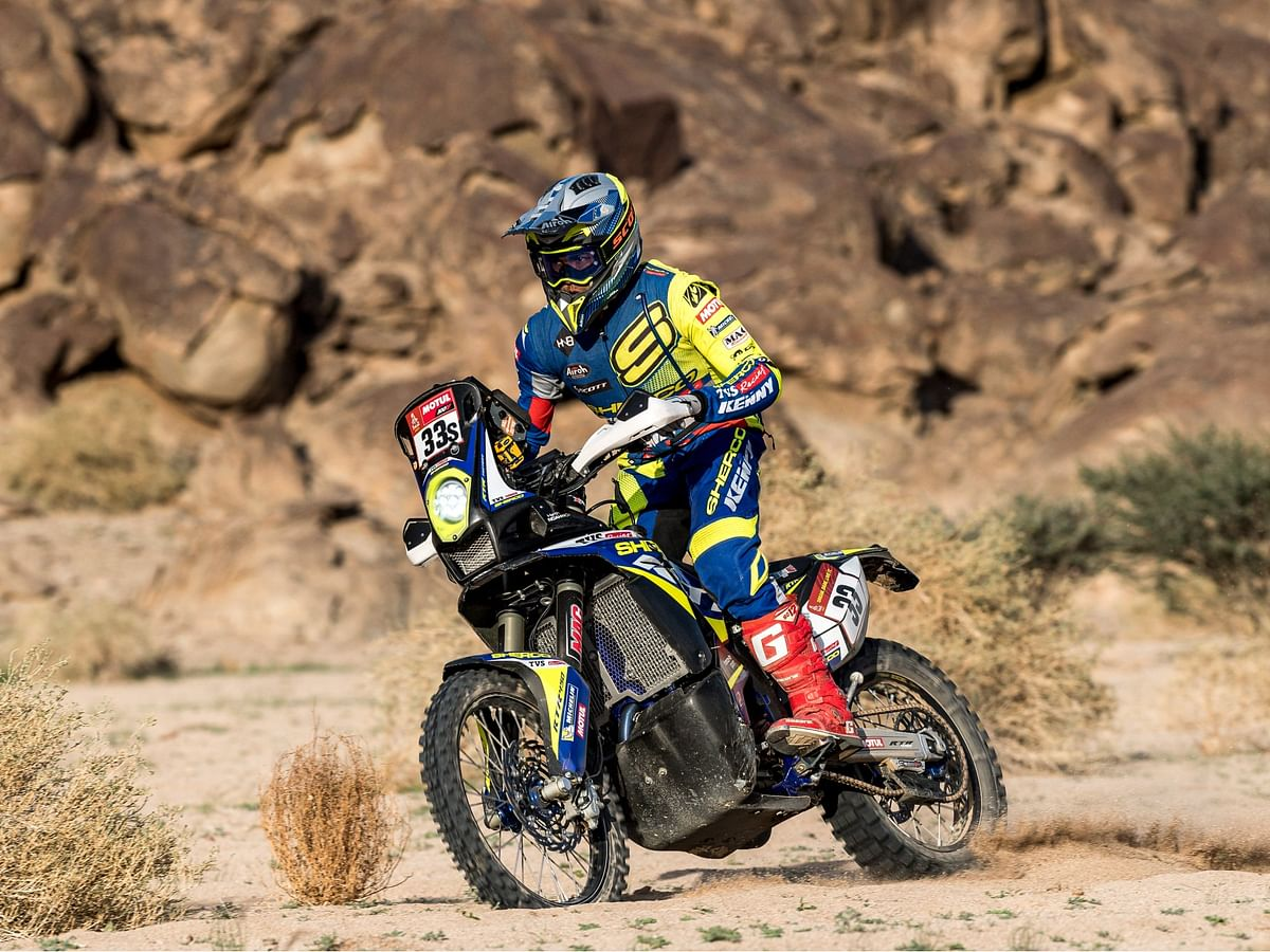 Dakar 2021 Stage 11   Harith continues his fine form, while a crash impacts Ashish's progress somewhat
