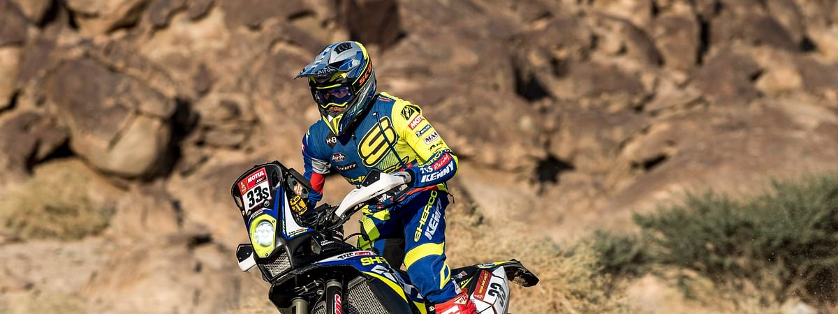 Harith Noah put in his best efforts, climbing a few spots in the overall 2021 Dakar standings