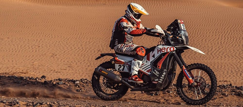 Dakar 2021 Stage 12 | Hero MotoSports' riders finish in top 15 overall