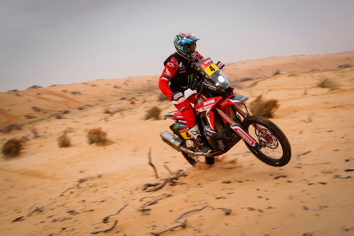 Dakar 2021 Stage 9 | Monster Energy Honda Team's trio dominate