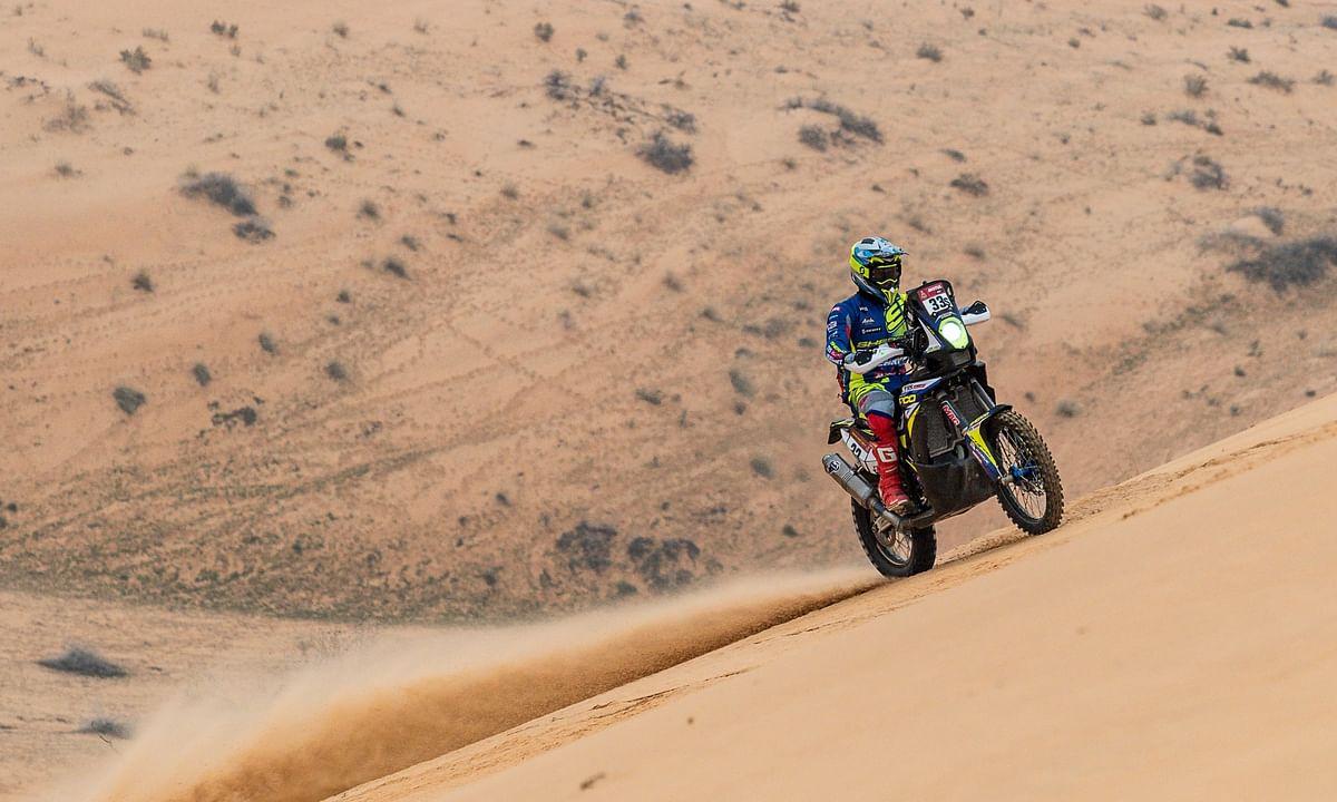 Dakar 2021 Stage 8   Positive result for Harith Noah