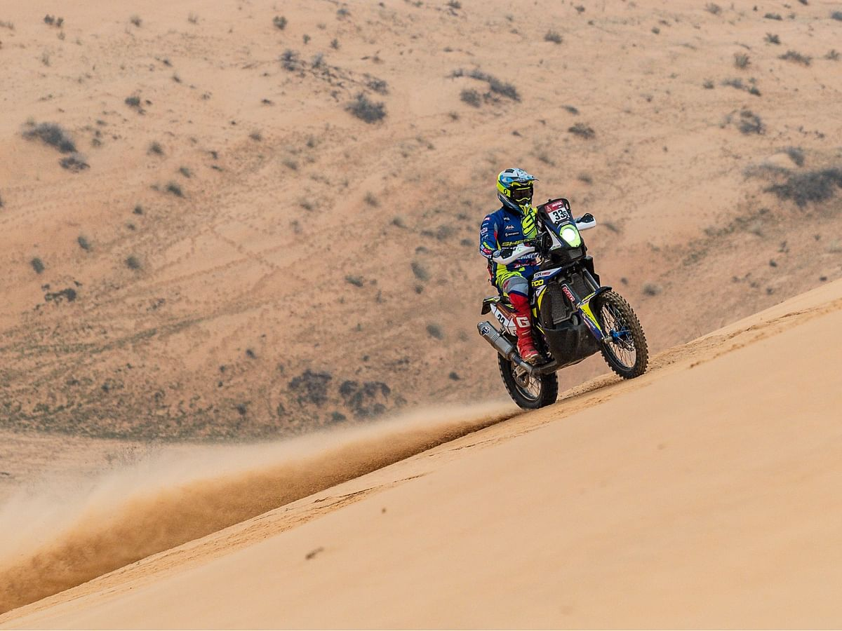 Dakar 2021 Stage 8 | Positive result for Harith Noah