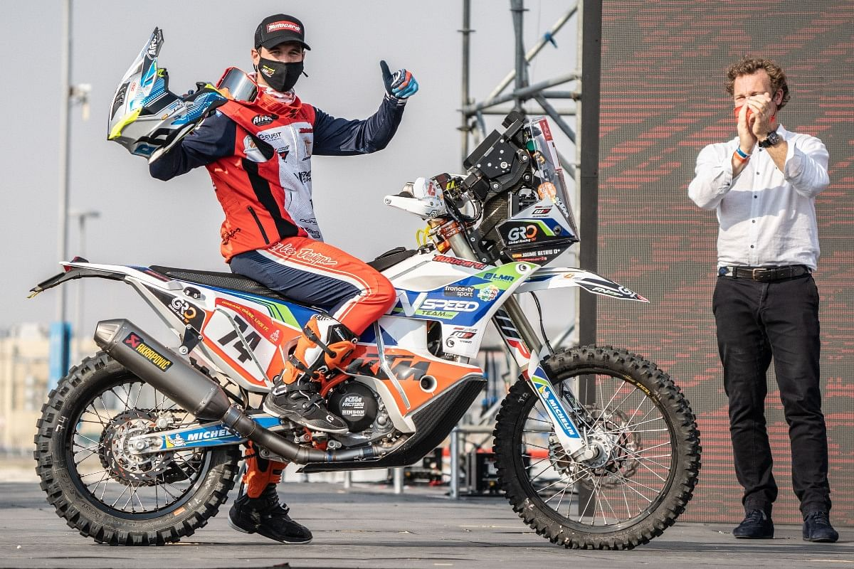 Jaume will be riding for the second time in Dakar this year