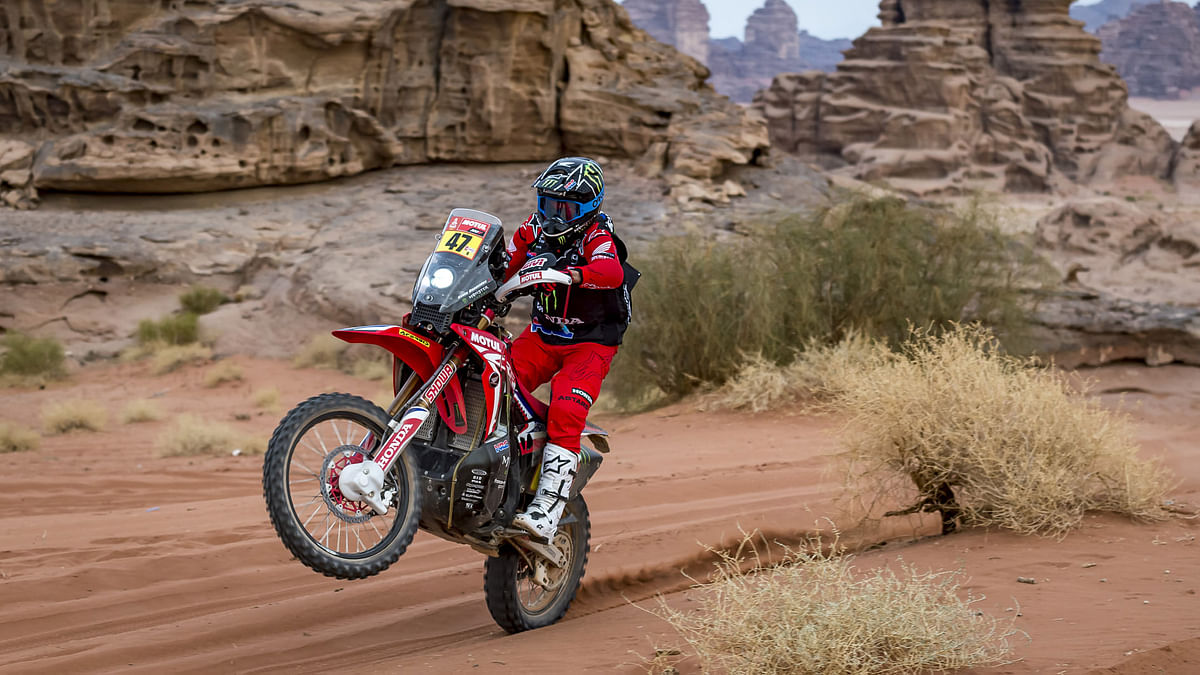 2021 Dakar   Kevin Benavides and Ricky Brabec take the one-two finish for Honda after 34 years