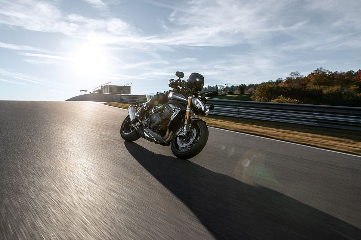 The all-new Speed Triple 1200 RS