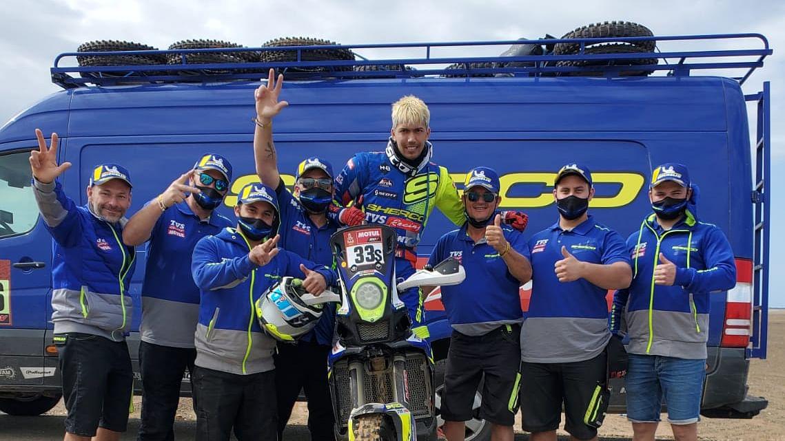 Dakar 2021   Harith Noah finishes P20!