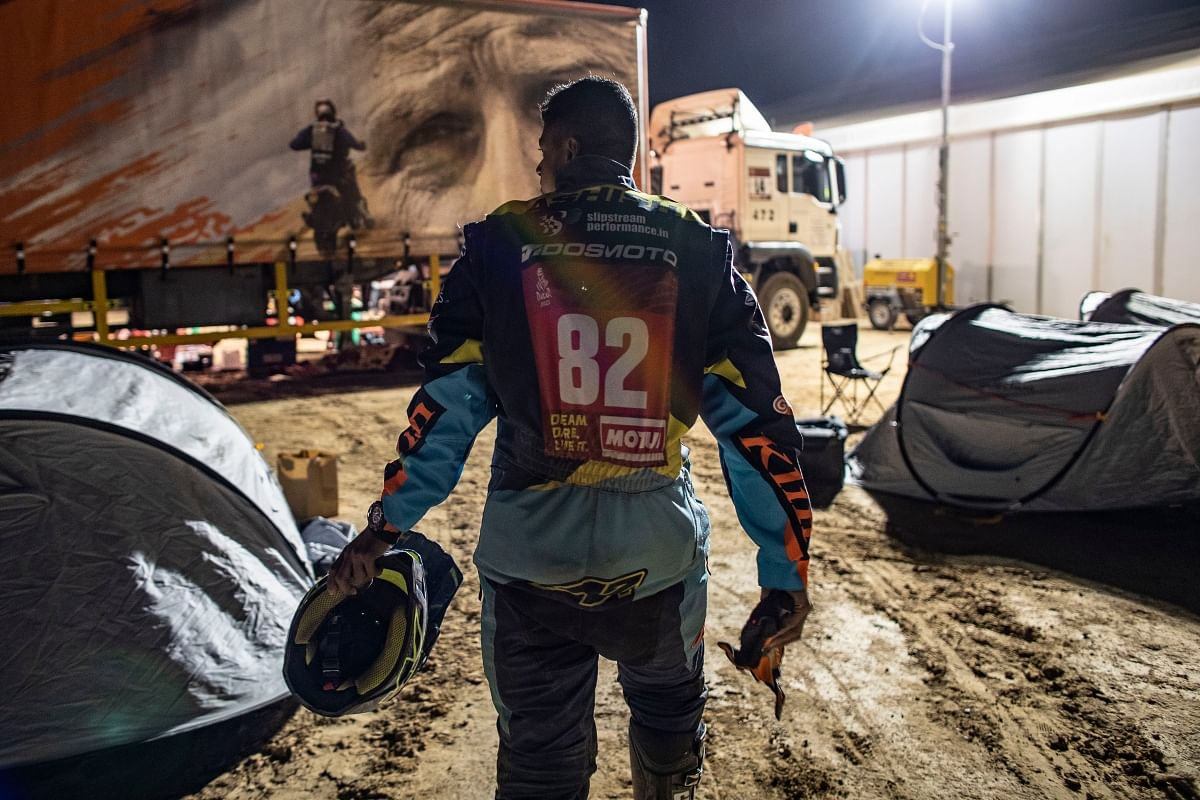It was undoubtedly a tough call for Ashish to cut short his 2021 Dakar attempt