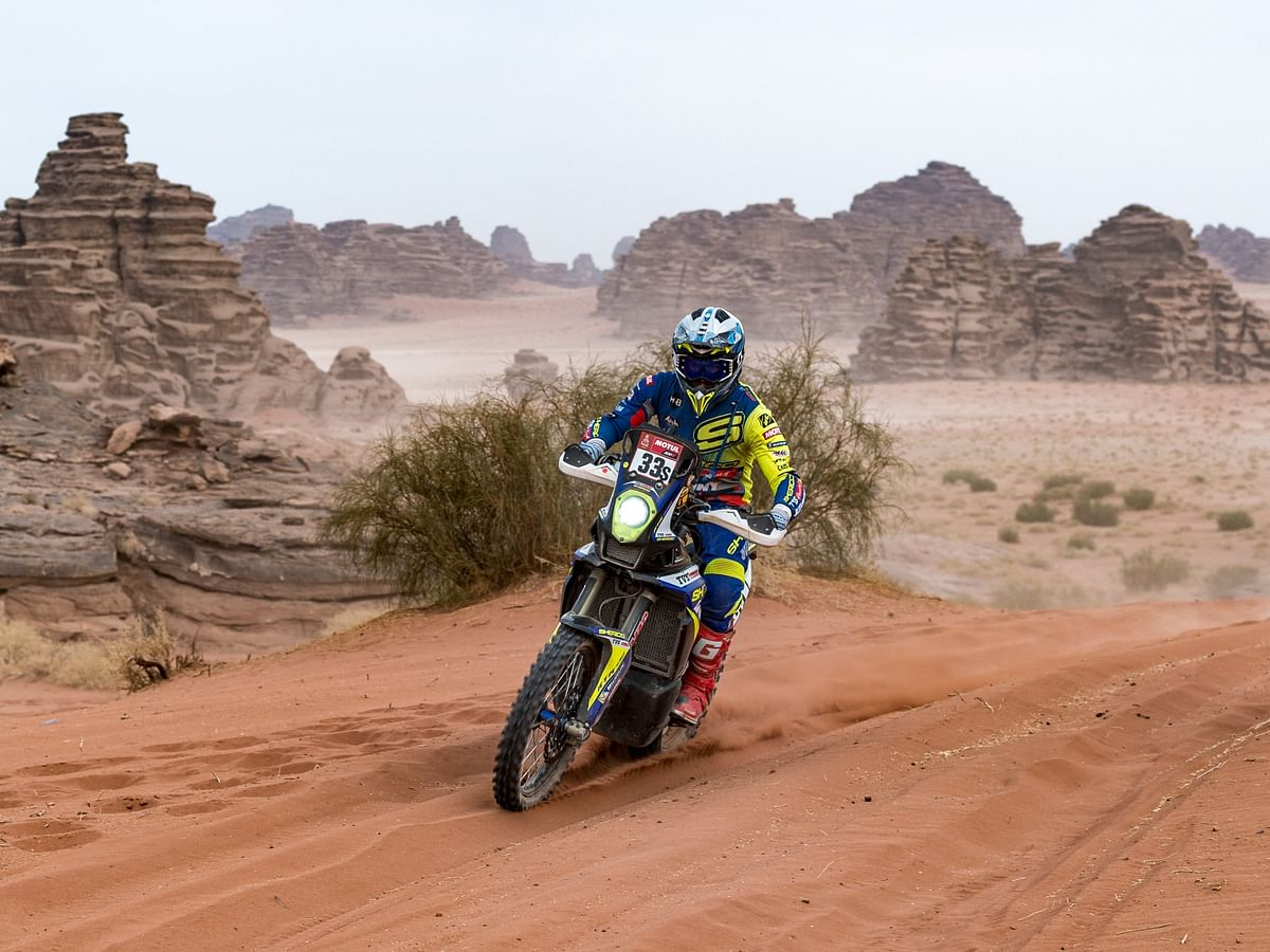 Dakar 2021 Stage 10 | Second consecutive top 25 finish for Harith Noah