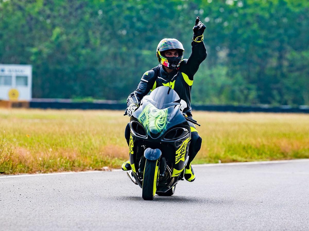Hemanth Mudappa wins big at the Indian National Motorcycle Drag Racing Championship 2021