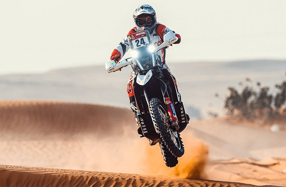 Dakar 2021 Stage 6| Strong finish for Hero Motosports' Joaquim Rodrigues