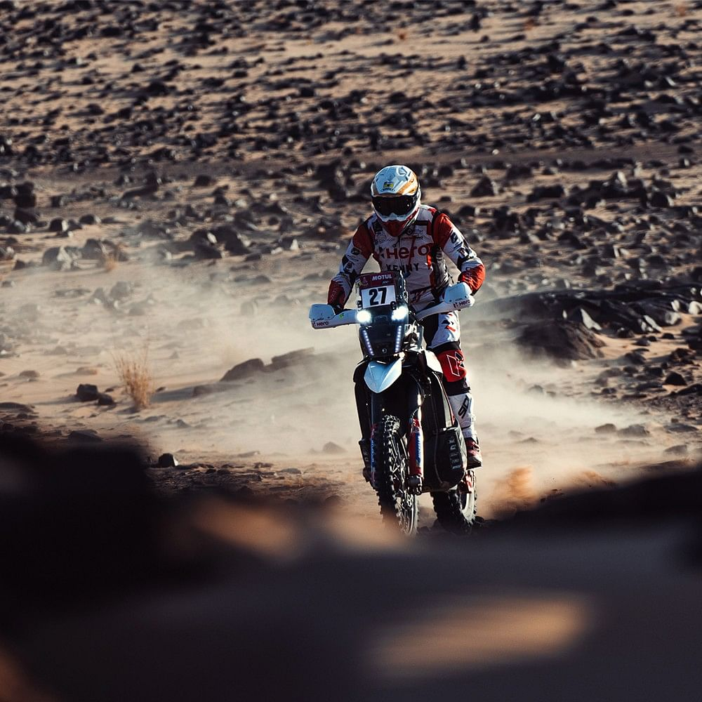 Dakar 2021 Stage 5 | Rough day for Hero MotoSports' Joaquim Rodrigues and Sebastian Buhler