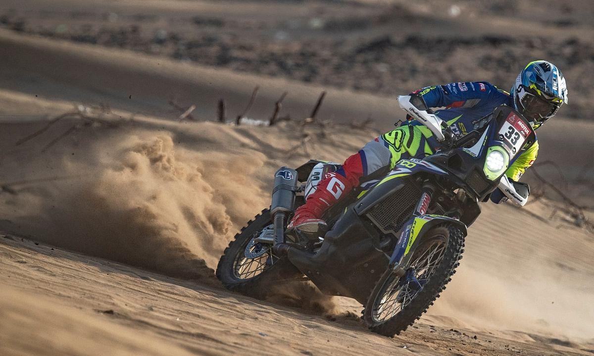 Harith blazed his way through the Saudi Arabian dunes at the 2021 Dakar