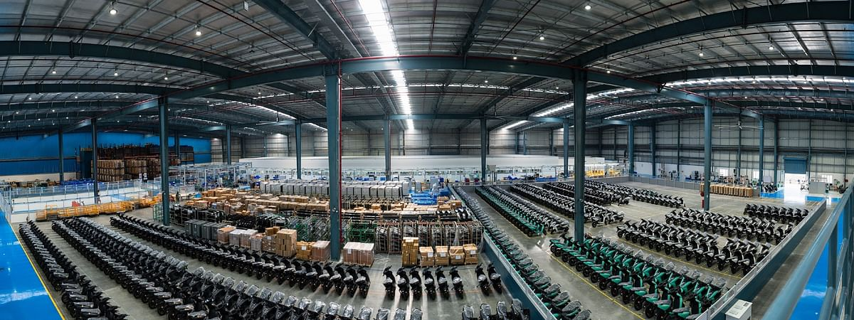 The new factory in Hosur is over 1 lakh square-feet in size!