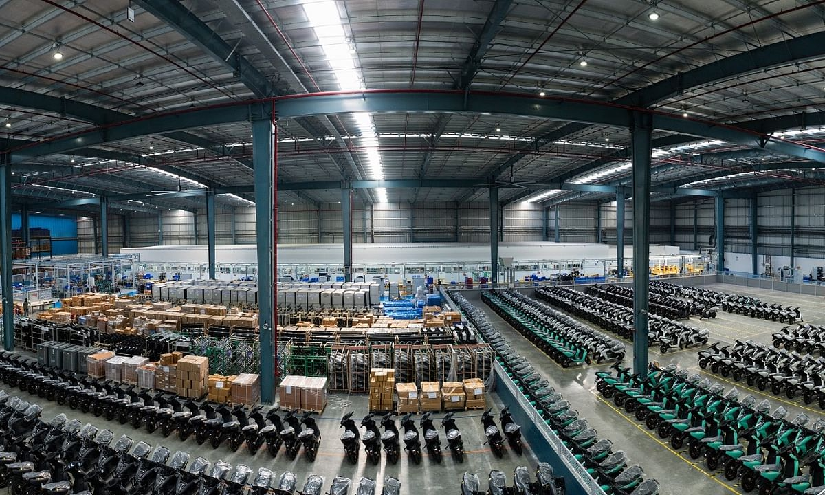 A look into Ather Energy's new factory and its plans for the future