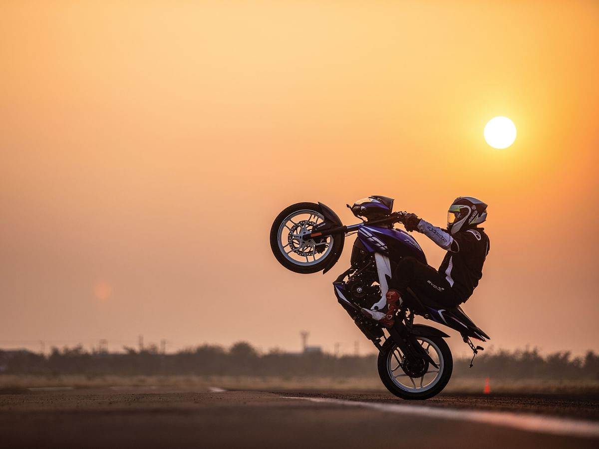 A look back at India's fastest quarter-mile wheelie with the Bajaj Pulsar NS 200