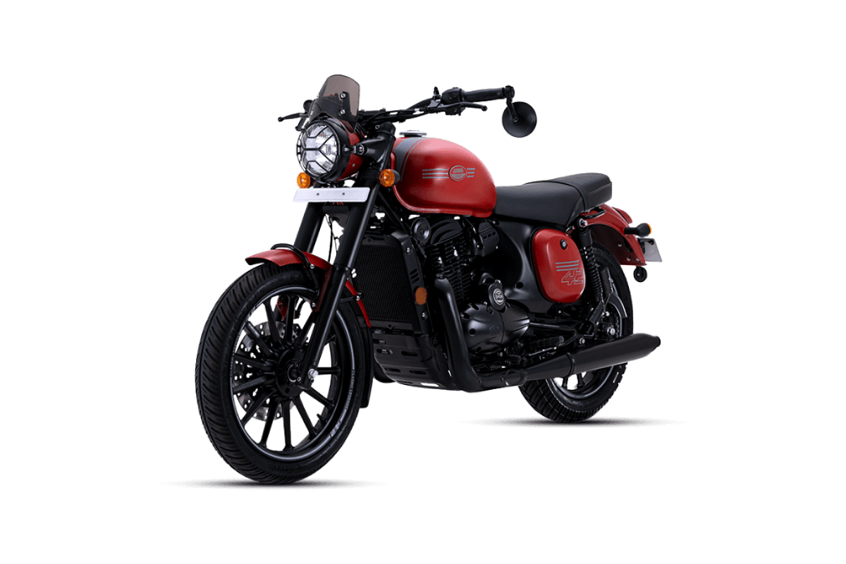 2021 Jawa 42 in Orion Red