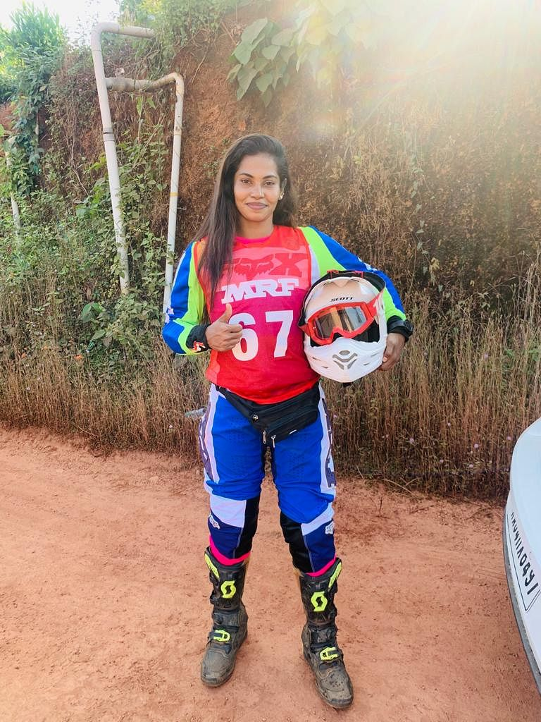 """All prepped up for INRC round 1 at Mangalore -  """"Why should boys have all the fun at dirt?"""""""