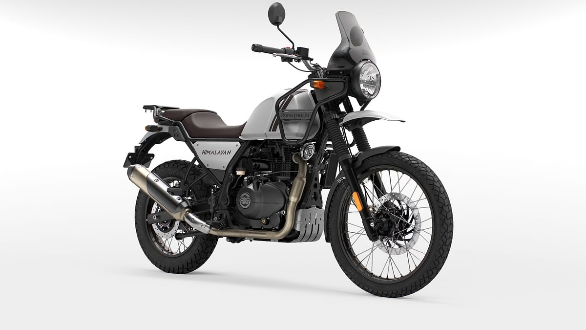 Doesn't the new Himalayan look smashing in Mirage Silver?