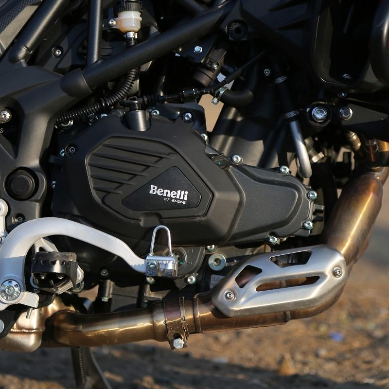 Benelli TRK 502 BS6 500cc parallel-twin engine feels underpowered