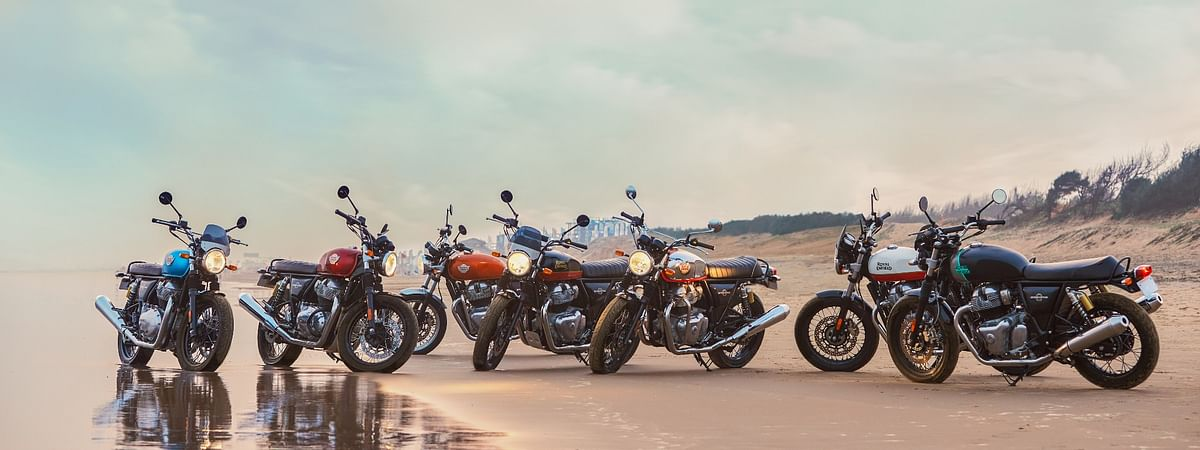 2021 Royal Enfield Interceptor 650 and Continental GT 650