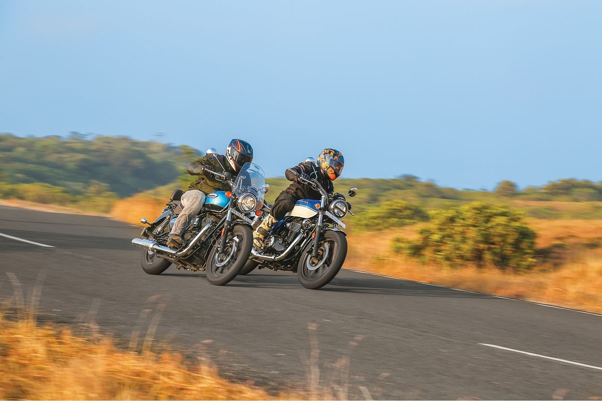 Royal Enfield Meteor 350 vs Honda H'ness CB350