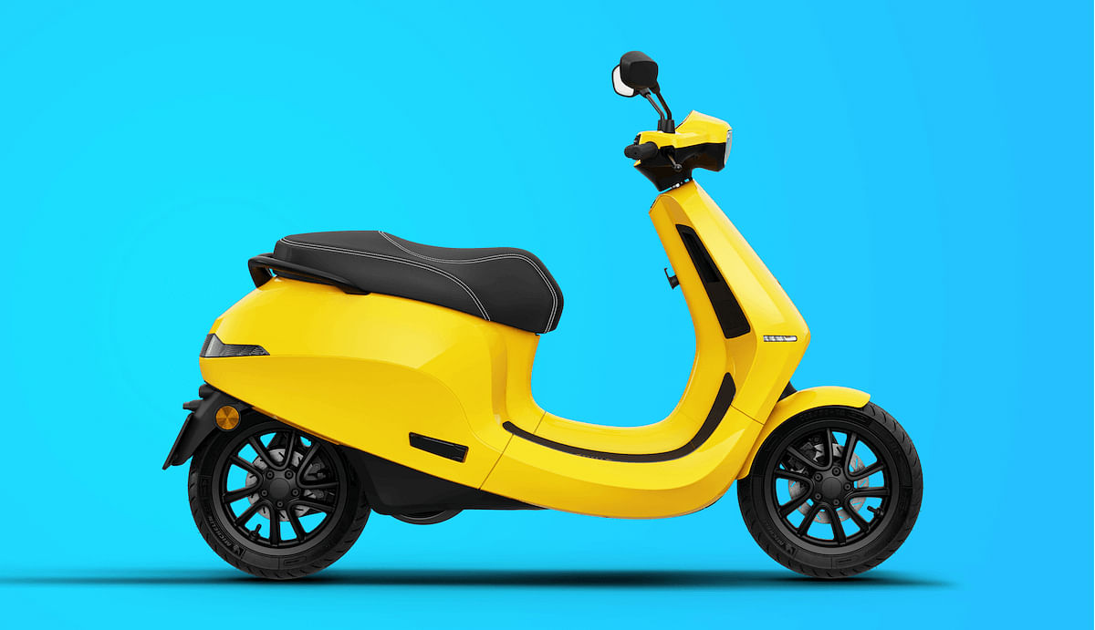 Ola electric scooter revealed