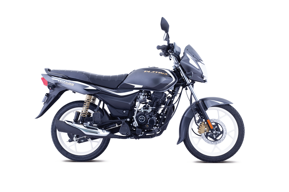 Bajaj Platina 110 ABS launched at Rs 65,926
