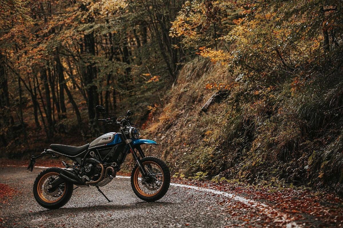 BS6 Ducati Scrambler Desert Sled