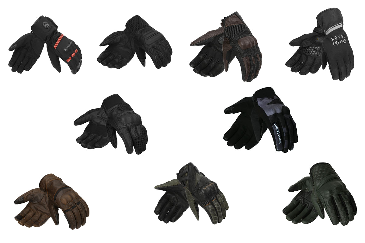 Royal Enfield CE certified range of gloves