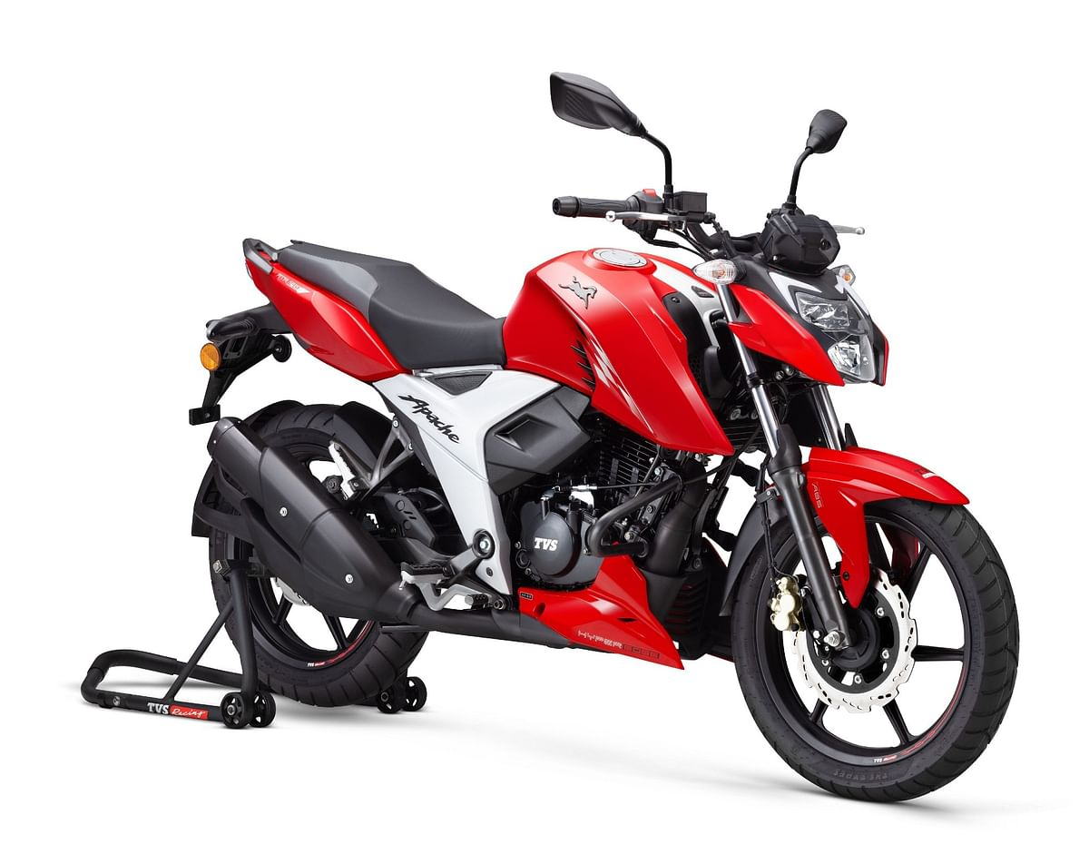 2021 TVS Apache RTR 160 4V launched at Rs 1.07 lakh