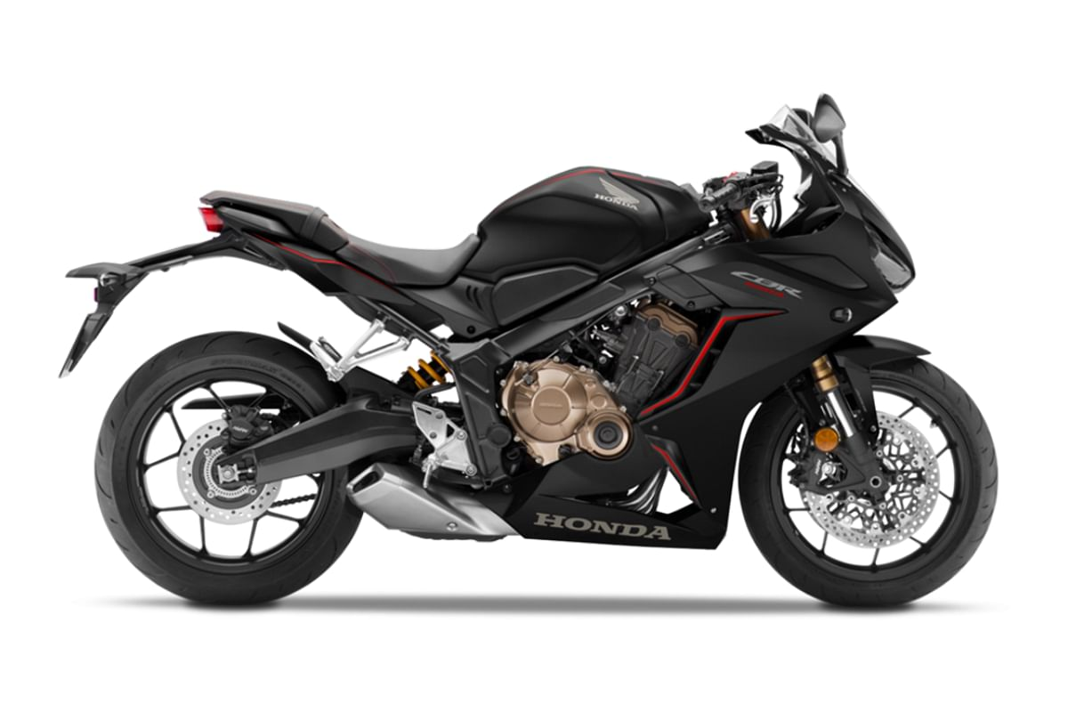 Honda CBR650R in Matte Gunpowder Black Metallic