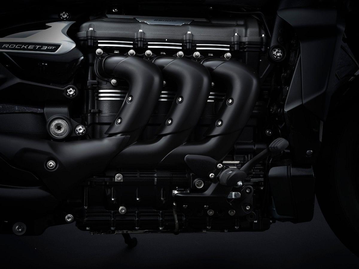 Rocket 3 GT Triple Black engine