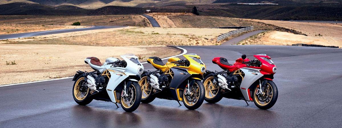 2021 MV Agusta Superveloce lineup