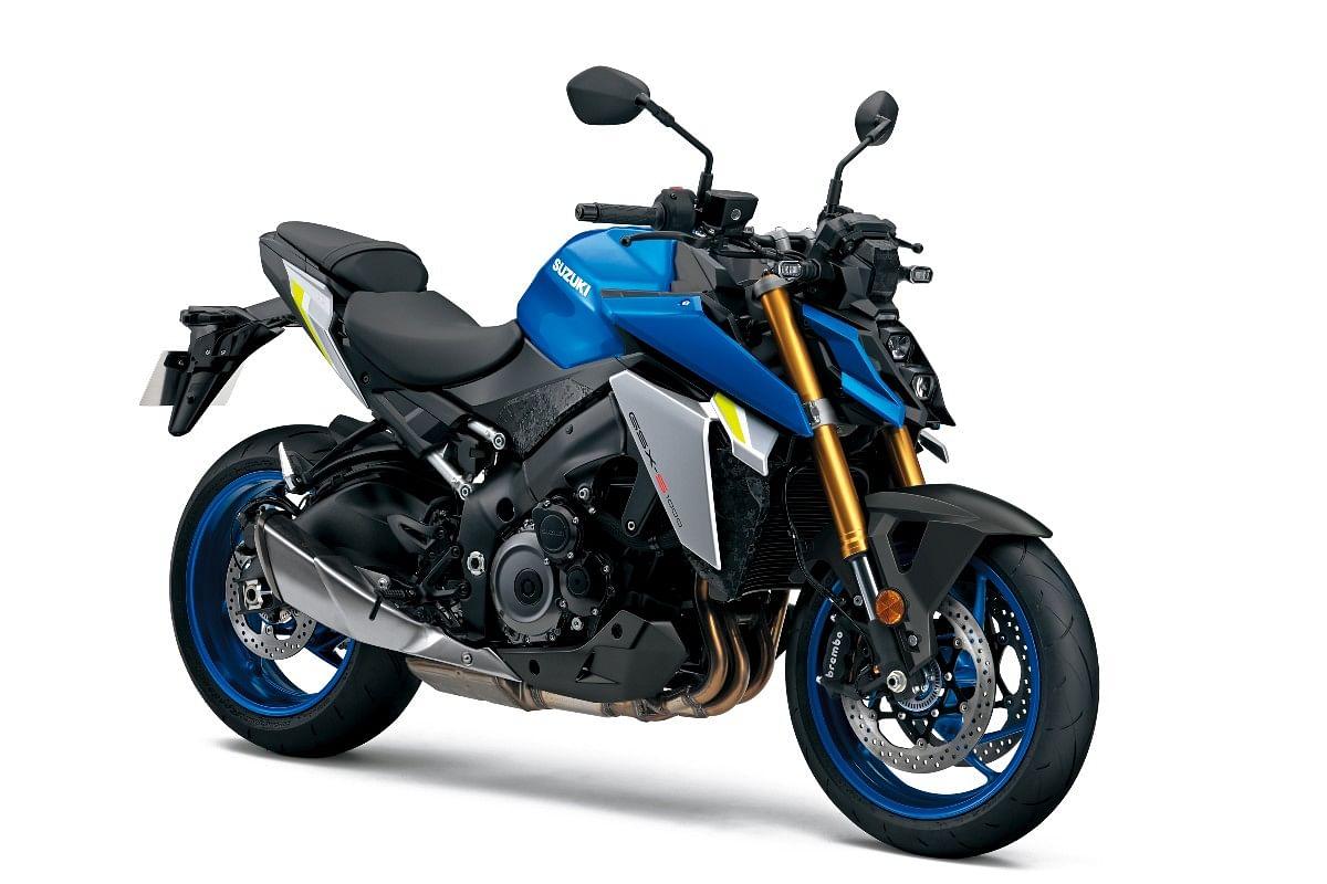 2021 Suzuki GSX-S1000 in Metallic Triton Blue