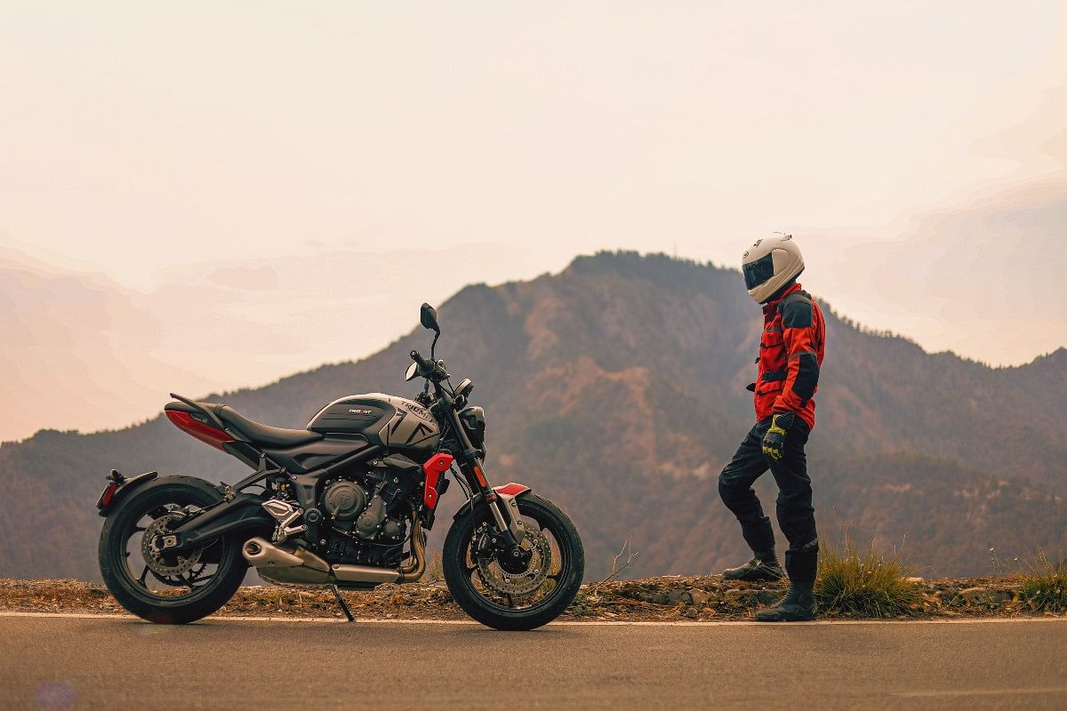 The Trident 660 is a great option for someone graduating from a 250-400cc bike