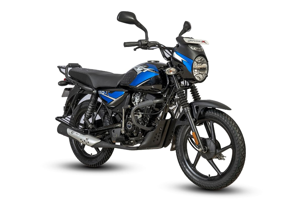 Bajaj CT110X launched at Rs 55,494