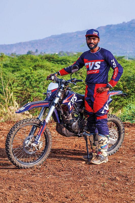 Jacob confides in TVS Racing's race-spec motorcycles
