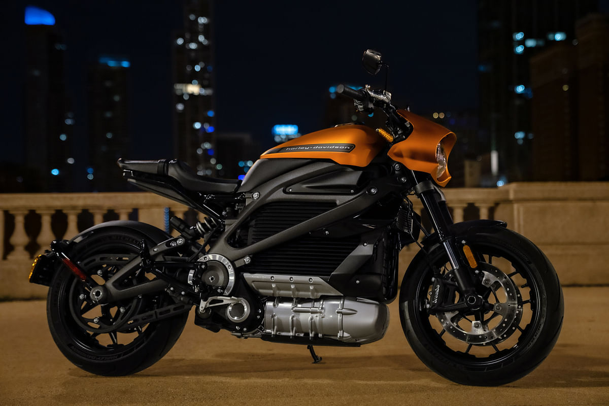 Harley-Davidson Livewire in all its glory